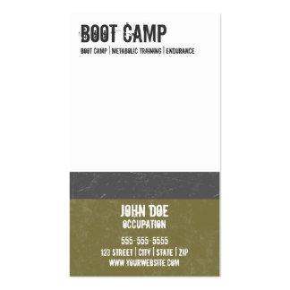 Tarjeta de visita de Boot Camp