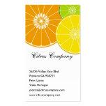Tarjeta de visita de Citrus Company