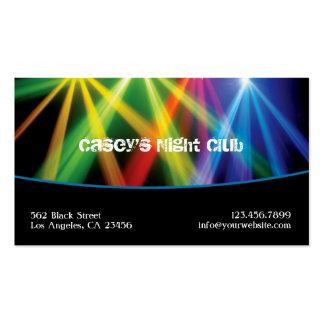 Tarjeta de visita de Club/DJ