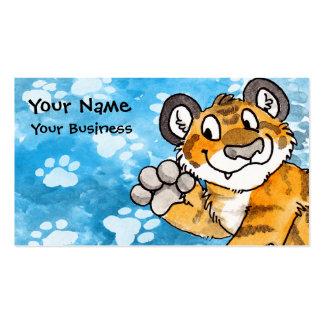 Tarjeta de visita de Cub de tigre