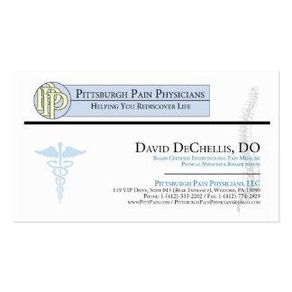 Tarjeta de visita de David DeChellis - de PittPain