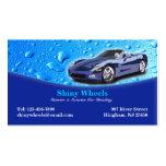 Tarjeta de visita de detalle auto