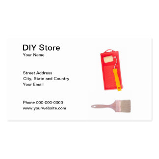 Tarjeta de visita de DIY