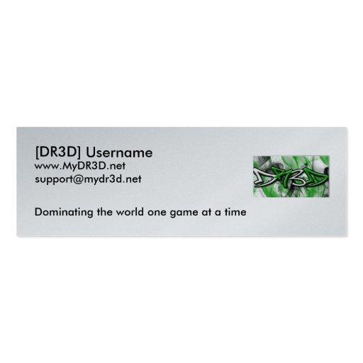 Tarjeta de visita de DR3D