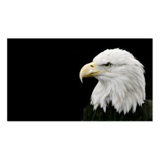 Tarjeta de visita de Eagle calvo