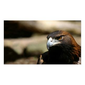 Tarjeta de visita de Eagle de oro