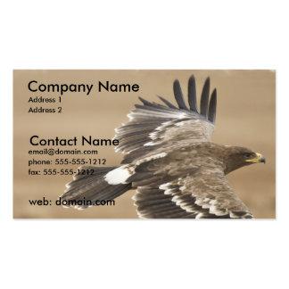 Tarjeta de visita de Eagle del vuelo