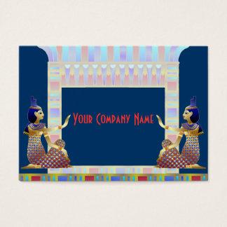Tarjeta de visita de Egipto antiguo