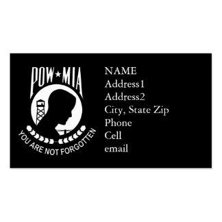 Tarjeta de visita de encargo del KRW POW/MIA