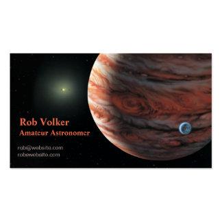 Tarjeta de visita de Exoplanet