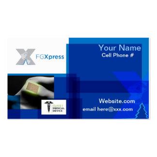 Tarjeta de visita de FGXpress