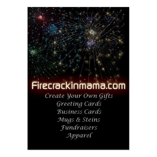 tarjeta de visita de Firecrackinmama.com - modific