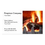 Tarjeta de visita de Fireplace Company