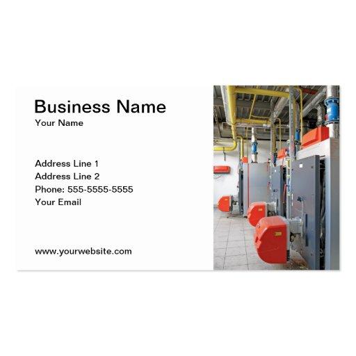Tarjeta de visita de Furnace Repair Company