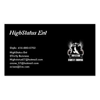 Tarjeta de visita de HighStatus
