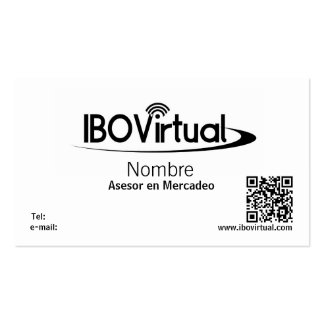 Tarjeta de visita de IBOVirtual