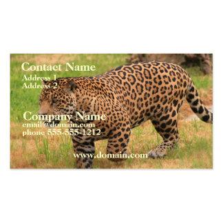 Tarjeta de visita de Jaguar
