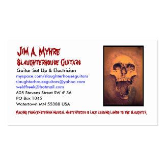 Tarjeta de visita de Jim'Z