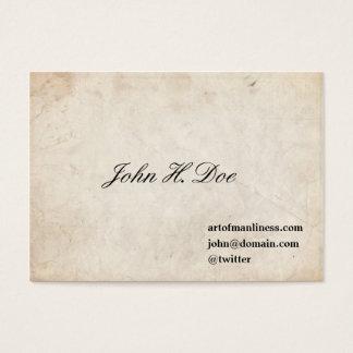 Tarjeta de visita de Juan L. Sullivan