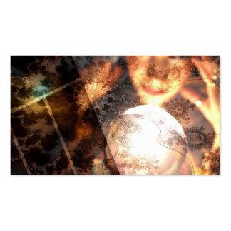 Tarjeta de visita de la bola de cristal