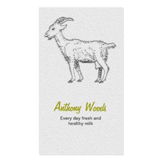 Tarjeta de visita de la cabra