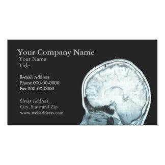 Tarjeta de visita de la cita del neurólogo