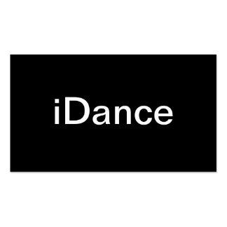 Tarjeta de visita de la danza