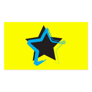 Tarjeta de visita de la estrella de la diva