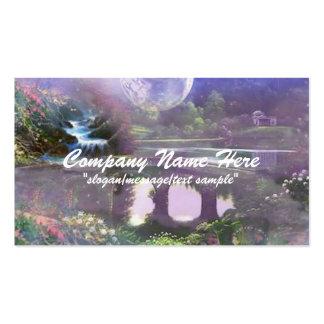 Tarjeta de visita de la fantasía:: Dreamland de la