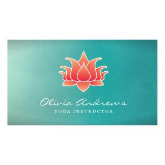 Tarjeta de visita de la flor de Lotus