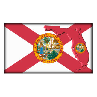 Tarjeta de visita de la Florida