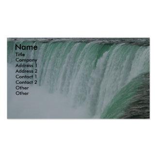 Tarjeta de visita de la foto de Niagara Falls