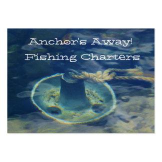 Tarjeta de visita de la fuente del pescador del an