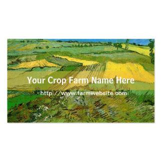 Tarjeta de visita de la granja de la cosecha