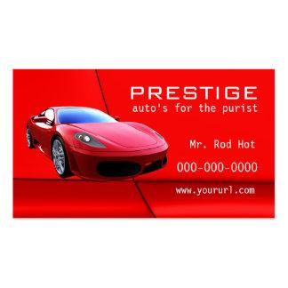 Tarjeta de visita de la industria del automóvil #7