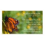 Tarjeta de visita de la mariposa de monarca 3