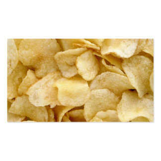 Tarjeta de visita de la patata frita