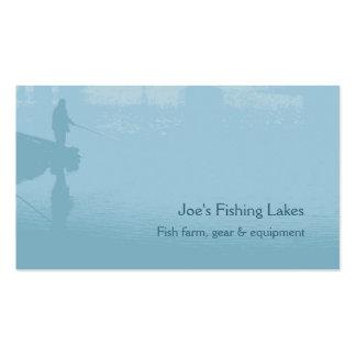 Tarjeta de visita de la pesca