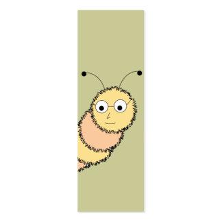 Tarjeta de visita de la señal del ratón de bibliot