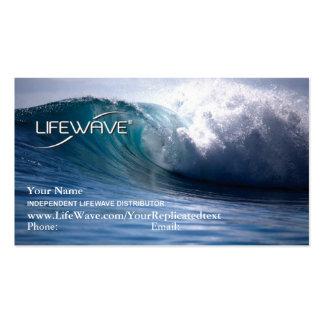 Tarjeta de visita de LifeWave con Matrix2 y theta