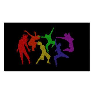 Tarjeta de visita de los bailarines
