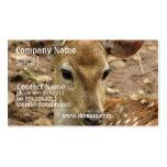 Tarjeta de visita de los ciervos de Bambi