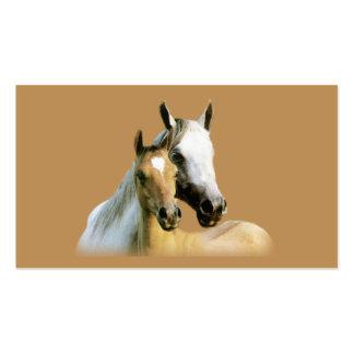 Tarjeta de visita de los compinches del caballo