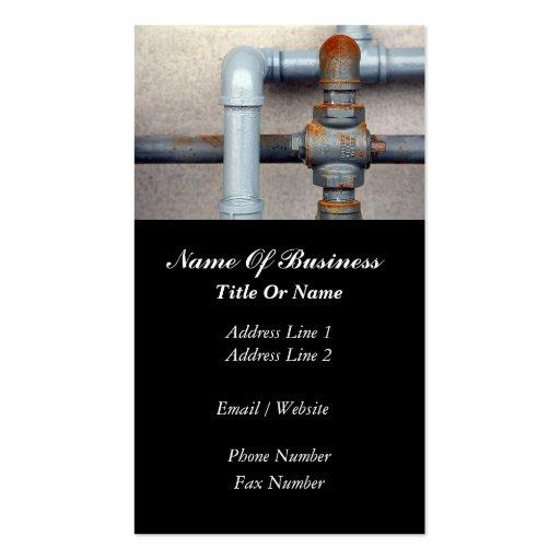 Tarjeta de visita de los fontaneros