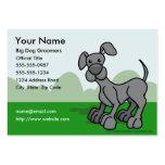 Tarjeta de visita de los Groomers del perro
