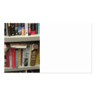 Tarjeta de visita de los libros