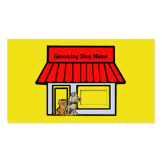 Tarjeta de visita de los productos y de servicios