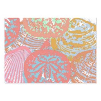 Tarjeta de visita de los Seashells