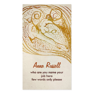 tarjeta de visita de los seres humanos