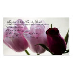 Tarjeta de visita de los tulipanes 3258
